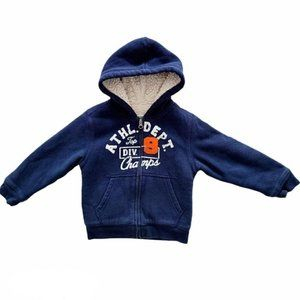 4/$30 Children's Place Boys Sherpa Lined Hoodie